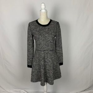 Lou & Grey Long Sleeve Tweed Knit Dress